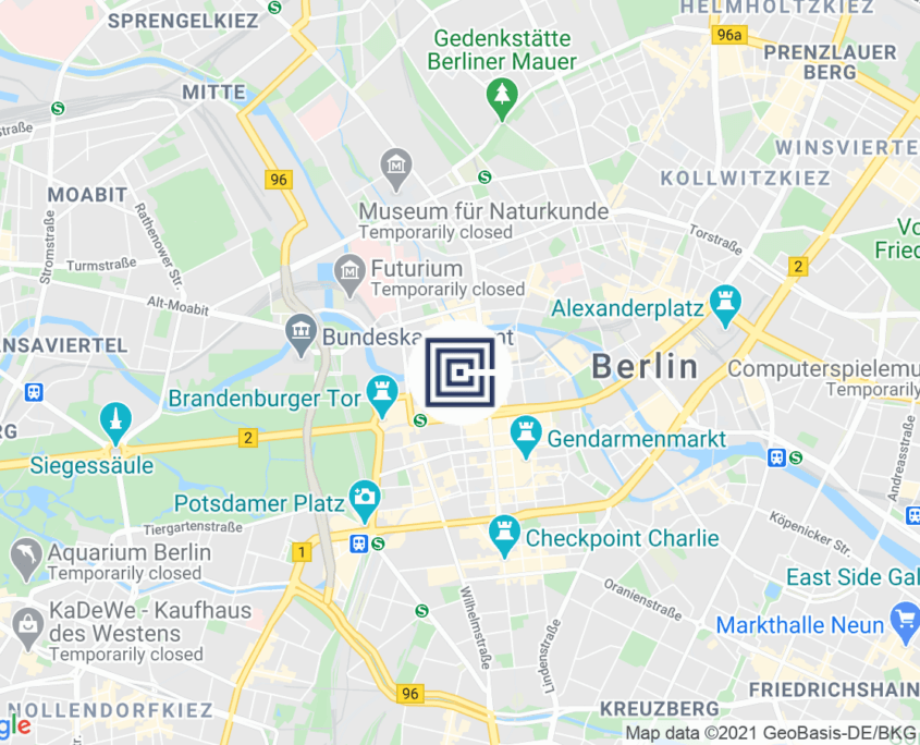 Google Map BTB Steuerberatungsgesellschaft mbH - Berlin